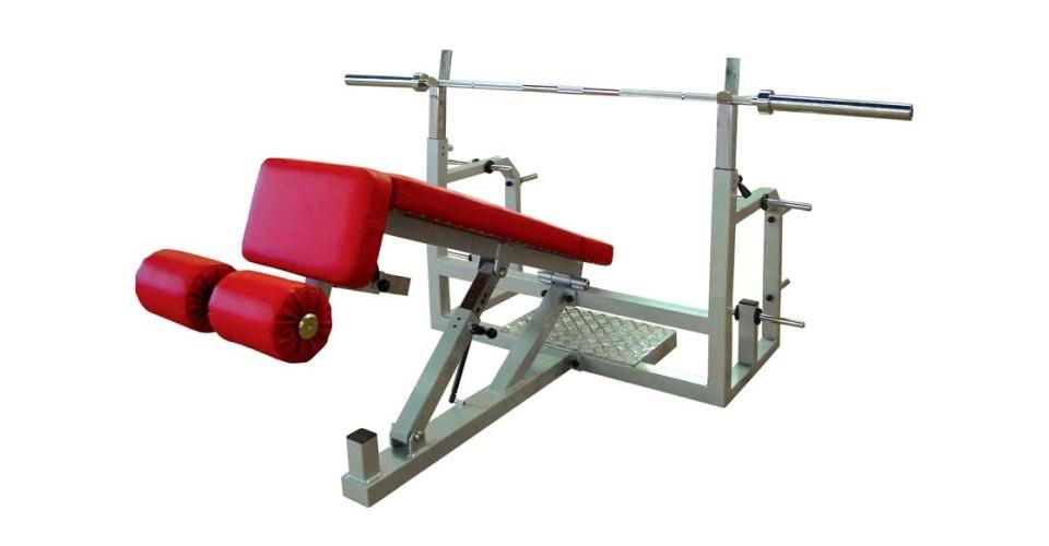 06/02-1 Bench press polohovací